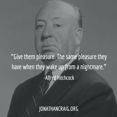 Want to see more? Check out Film Quotes, Poetry Quotes, Alfred Hitchcock Quotes, Film Ratings, Filmmaking Quotes, Interview Techniques, Film Tips, Film Director, Screenwriting