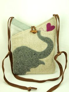 Who needs a trunk when you can have an elephant bag?