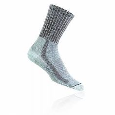 Thorlo Junior Grey Coolmax Running Training Sports Outdoors Mid Height Socks