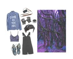 """""""An Adventure into the unknown"""" by flamingace ❤ liked on Polyvore featuring Dr. Martens, Topshop and adidas"""