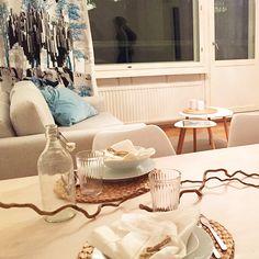 Luca-sohva • @minnakristiina • Verhoiluna Libra-kangas, sävy 07. Luca, Helsinki, Inspirational, Instagram, Inspiration