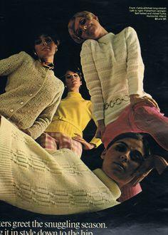 Seventeen Dec 1967.  Jennifer O'Neill, Colleen Corby, Cay Sanderson and Regine Jaffrey.