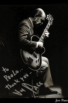 "Jazz photo: ""Joe Pass, 1991"" by AAJ Staff"