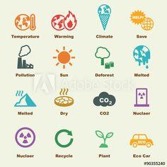 global warming elements