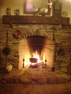 New Rumford Fireplace Rumford Fireplace, Primitive Fireplace, Cabin Fireplace, Rustic Fireplaces, Farmhouse Fireplace, Fireplace Design, Fireplace Mantels, Mantles, Fireplace Draft Stopper