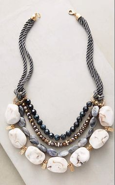 Bainbridge Layered Necklace #anthroregistry