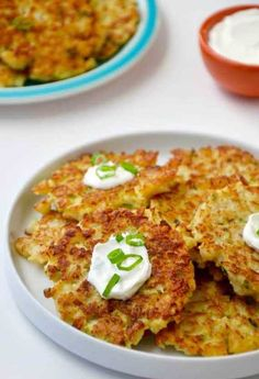 STYLECASTER | Recipes with Spring Veggies | Healthy Cauliflower Fritters