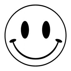 Free Printable Smiley Face Coloring Pages For Kids أفكار للقمصان