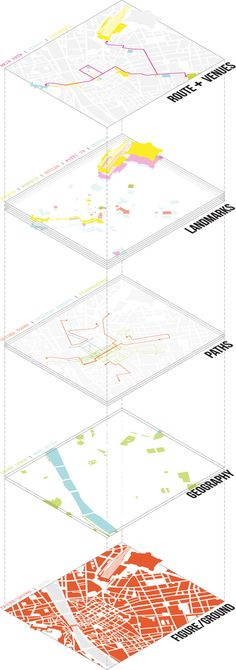 architecture exploded site diagram _ Mapping exercise | diagram