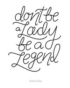 """""""Be a Legend"""" Hand Lettered Print Hand Lettering Styles, Hand Lettering Tutorial, Hand Lettering Alphabet, Hand Lettering Quotes, Calligraphy Quotes, Typography Quotes, Lettering Ideas, Lettering Design, Bullet Journal Hand Lettering"""