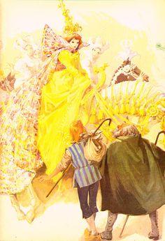 Ilustração para o conto O Companheiro de Viagem, de H. C. Andersen - sem…