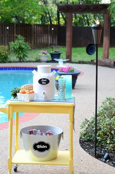 Love This Pool Party Simple Backyard Entertaining Tips