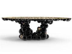 Mesa de Comedor Newton es un pieza de inspiración, una mesa completa con las esferas y semiesferas que se unieron completar esta mesa con este aspecto exquisito. Inspirado en la ley de Newton de la gravedad, que estábamos buscando un objeto capaz de reflejar la atracción esfera ya que se unió a la masa, la fuerza y la energía.