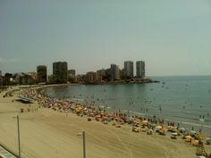 Playa De La Concha en Oropesa del Mar, Valencia
