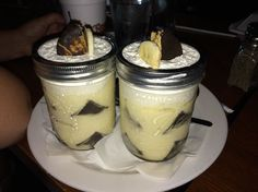 The Cannon Brew Pub, Columbus Picture: Banana pudding moon pie inside! - Check out Tripadvisor members' 166 candid photos and videos of The Cannon Brew Pub Pie Recipes, Dessert Recipes, Desserts, Fort Benning, Columbus Georgia, Moon Pies, Dessert In A Jar, Brew Pub, Down South
