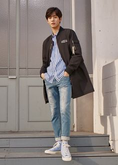 Shared by madz. Find images and videos about fashion, model and aesthetic on We Heart It - the app to get lost in what you love. Korean People, Korean Men, Asian Men, Ahn Jae Hyun, Joo Hyuk, Kim Myungsoo, Ahn Hyo Seop, Romantic Doctor, Nam Joohyuk