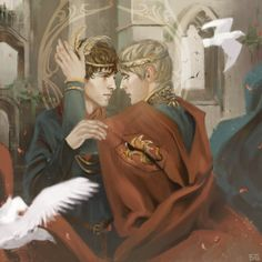 """sexgenius: """" Another version for an """"old"""" fanart: Blessing """""""