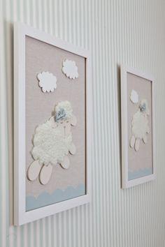 Os pais da Letícia queriam um quartinho clean e delicado com o tema ovelhinha. Partindo dessa ideia, o Atelier Alexandra Abujamra elaborou um projeto com c
