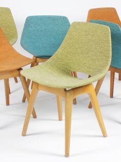 Pierre Guariche; Side Chair for Steiner, 1954.