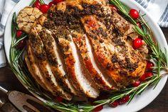 Instant Pot Turkey Breast with Garlic-Herb Butter