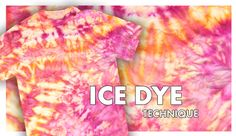 Shibori Tie-Dye Technique
