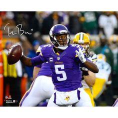 "Teddy Bridgewater Minnesota Vikings Fanatics Authentic Autographed 16"" x 20"" Horizontal Throw Photograph - $169.99"