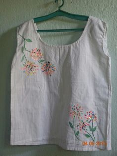 Diy top from a skirt
