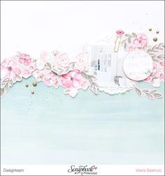 Inspirationsgalerie - Layout-Werkstatt - Scrapbook Werkstatt - Layouts mit Pink Paislee von Veera Saarivuo
