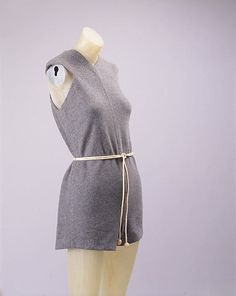 Beachwear (Bathing Suit), by Claire McCardell, Manufacturer: Townley Frocks, c. 1945. Metropolitan Museum of Art, 1980.404.1ab