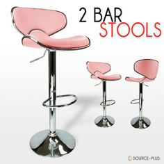 2 Swivel Pink Elegant PU Leather Modern Adjustable Hydraulic Bar Stool Barstool by Talentstar. $82.00  sc 1 st  Pinterest & Bar Stool Capiton - Pink | ROSA ROSA TAN MARAVILLOSA!! | Pinterest ... islam-shia.org