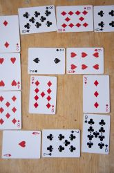 Spiral: A Multiplication Game - this looks so fun! All you need is a deck of cards, a die, and a couple of player pieces. school, multiplication facts, playing cards, spiral, card games, multiplication games, third grade, multipl game, kid