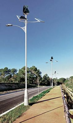 These Spanish Streetlights Are Powered Entirely By Renewable Energy | Co.Exist | ideas + impact