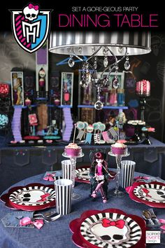 29cce3aed708 How to Host a Ghouls Rule Monster High Party!