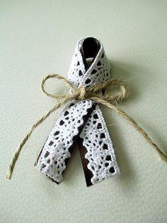Svadobné pierka s čipkou   jana.milci - SAShE.sk - Handmade Pierka 38119be900