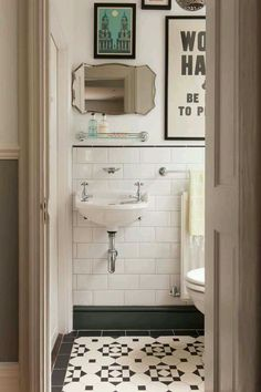 How to decorate and update retro, dated or builder grade bathrooms when you are renting or on a budget