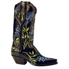 Bluebonnet boots by Rocketbuster Handmade Custom Boots
