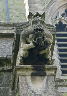 Sainz Wifried' Church, Alford, Lincolnshire, U.K Gargoyle | por Redscape