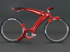 Futurist bicycle