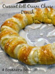 Crescent Roll Cream Cheese Danish recipe that is easy and make any morning stress free.