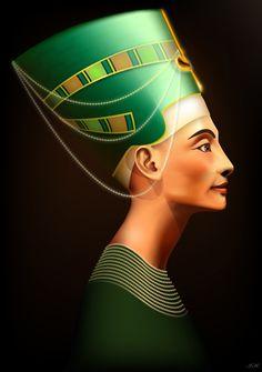Nefertiti by ~Desarta1 on deviantART