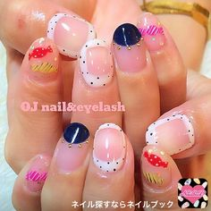 かわいいネイルを見つけたよ♪ #nailbook #nails #naildesign #celebrity #tokyo #art  #valentineday #ojsalon #広尾 #恵比寿