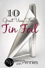 10 great uses for tin foil