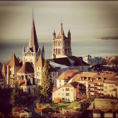 """Lausanne I miss you #lausanne #switzerland"""