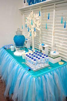 Frozen Disney Birthday Party Ideas Birthday party desserts Girl