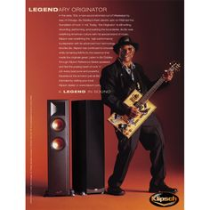 """""""Listen to Bo Diddley through Klipsch Reference Series speakers and feel the pulsing heart of rock 'n' roll, every beat pure and powerful."""" For more information on the Klipsch Reference line of speakers go to http://www.klipsch.com/reference"""