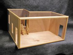 Custom Dollhouse Room Boxes | CUSTOM ROOMBOX / DISPLAY CASES / SHADOW BOXES / DIORAMAS AND MINIATURE ...