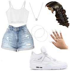 Baddie Outfits Casual, Swag Outfits For Girls, Cute Outfits For School, Teenage Girl Outfits, Cute Swag Outfits, Cute Comfy Outfits, Girls Fashion Clothes, Teen Fashion Outfits, Dope Outfits