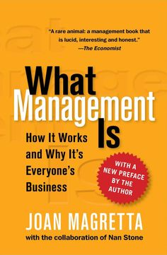 A beginner's guide and a bible for one of the greatest social innovations of modern times: the discipline of management.Whether you're new to the field or a seasoned executive, this book will give you a firm grasp on what it takes to make an organization perform. It presents the basic principles of management simply, but not simplistically. Why did an eBay succeed where a Webvan did not? Why do you need both a business model and a strategy? Why is it impossible to manage without the right…