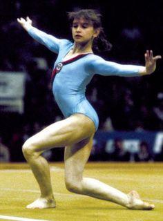 Irina Baraksanova Elite Gymnastics, Gymnastics Pictures, Artistic Gymnastics, Olympic Gymnastics, Olympic Sports, Gymnastics Girls, Nadia Comaneci Perfect 10, Famous Gymnasts, Olympic Swimmers
