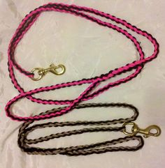 Paracord Leashes with how to